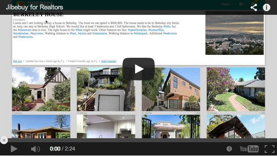 Jibebuy for Realtors demonstration video