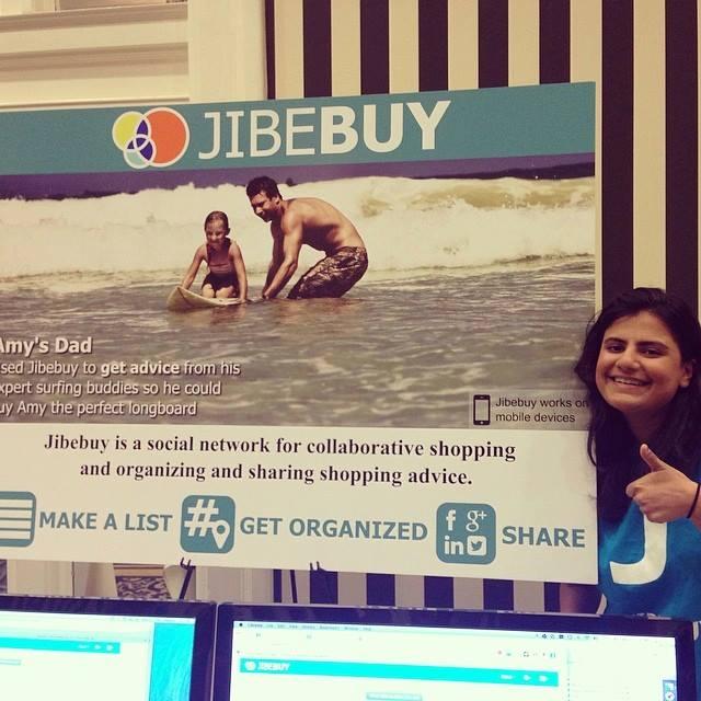 Jibebuy at a Trade Show